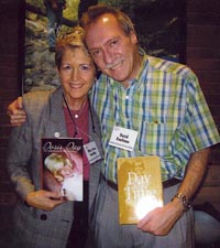 Here I am with David Kaufman, whose book was Doris Day: The Untold Story of the Girl Next Door. It came out about the time mine did.
